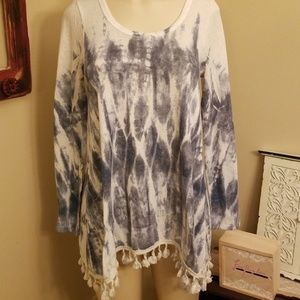Blue pepper tunic